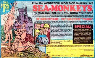 Another YouTube find, The Dark Past of Sea Monkeys, is one you'll have to watch 'til the end!