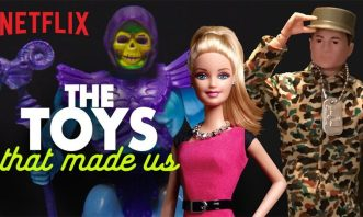 The Toys That Made Us, available on Netflix, has 8 episodes about an hour long each.
